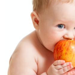 Qual o tamanho do estômago do bebê?